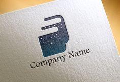 特殊用紙にプリントされたロゴ