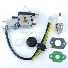 Carburetor Carb Fuel LIne for ZAMA C1U-K54A Mantis Tillers Cultivator 7222E Echo SV-4B SV-4/B SV4B Genuine 12520013122 Trimmer