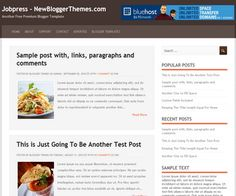JobPress Premium Blogger Template Free Download 2013 - StudentsCrunch