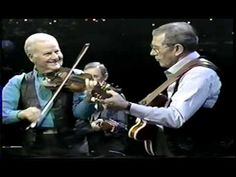 Chet Atkins and Johnny Gimble - Jesse Polka - http://dailyvideo.guitars/chet-atkins-and-johnny-gimble-jesse-polka/ -  What Johnny Gimble and Chet Atkins are probably doing right now.
