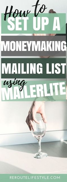 You'll love this tutorial for beginners on how to set up a mailing list using Mailerlite - all for free! You definitely need to start building your email list to maximize your potential of making money online. blog tutorials, blogging tips, make money with mailing list