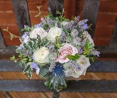 Pinks / Lilacs / Blues / Pastels Wedding Flowers Gallery
