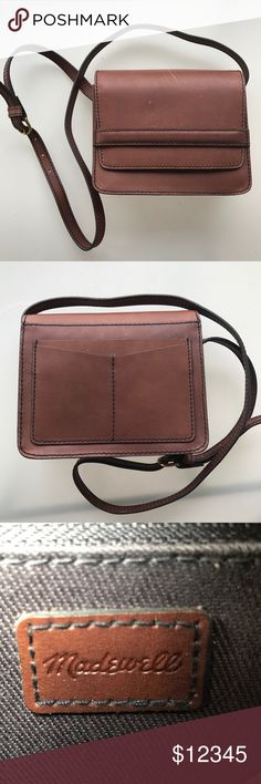 COMING SOON- Madewell Leather Crossbody COMING SOON- Madewell Leather Crossbody, good condition, some scratches on the from lid of bag. Absolutely beautiful bag. Smoke free home. Madewell Bags Crossbody Bags
