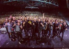 Last night of Breaking Benjamin's tour with Disturbed. Alter Bridge, Breaking Benjamin, Burnley, Cool Photos, Concert, Band, Night, Music, Musica