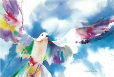 Dove by H Lee Shapiro - Dove Painting - Dove Fine Art Prints and ...