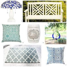 Curb appeal mood board :Jazz up the appearance of your home's exterior with with these curb appeal tips | Simple Nature Decor