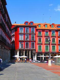 Plaza Mayor of Valladolid (Spain) #Valladolid #Spain #Architecture
