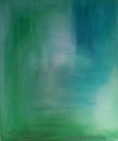 The earth- & seaside of Green   -   Acryl auf Leinwand   50 x 60 cm