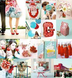 vintage carnival centerpiece | vintage carnival themed nursery , vintage cards funny ,