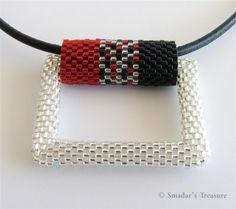 Smadar's Treasure: New 3D Rectangle Pendant (Aiko vs. Delica)