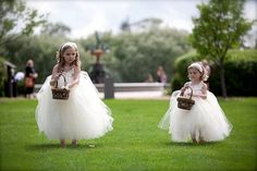 Reserved  Ivory Flower Girl Tutu Dress Couture by FluffyTuffies