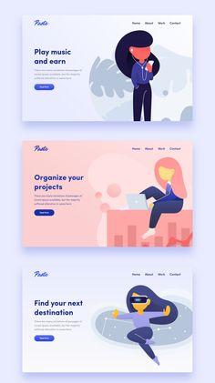 Handsome Illustrations on Market (market.) Handsome Illustrations on Market (market. Cool Web Design, App Design, Web Design Trends, Web Design Company, Logo Design, Flat Design, Report Design, Web Design Websites, Web Design Quotes