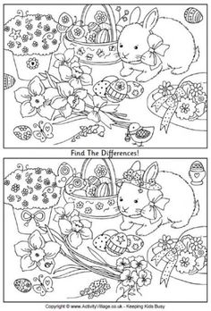 Crafts,Actvities and Worksheets for Preschool,Toddler and Kindergarten.Lots of worksheets and coloring pages. Easter Puzzles, Easter Worksheets, Easter Printables, Easter Activities, Puzzles For Kids, Worksheets For Kids, Fun Activities, Super Coloring Pages, Easter Coloring Pages