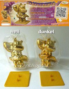 NEU! Alle 2 Sonderfiguren GOLDENES MARYLINCHEN gold (hell & dunkel) inkl. 2 BPZ