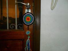 COLGANTE MANDALA COLORES DE LOS CHAKRAS