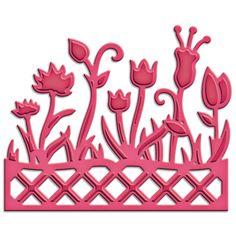 Spellbinders Shapeabilities Die D-Lites - Flower Box