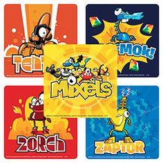 Sticker Pack - LEGO Mixels - 75 ct