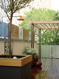 Outdoor Shower Ideas NYC Roof