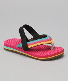 a32bf4edc Sanuk Pink Bubbler Flip-Flop - Kids