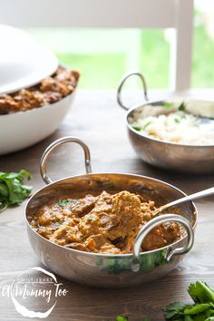 Slow Cooked Lamb Korma   It is luxuriously thick, slightly sweet, and filled with lamb so perfectly soft it falls off the fork. @amummytoo