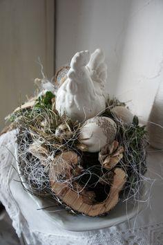 """Frühling - Frühlingsdeko """" Hühnerfest...."""" - ein Designerstück von Hoimeliges bei DaWanda"""