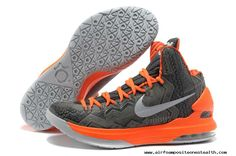 buy online 1b644 09868 Nike KD V (5) BHM Black History Month Grey Orange (583107 001