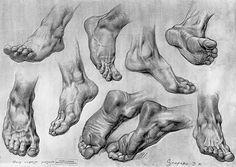 SCULPTURE - Roman Foot - CGFeedback
