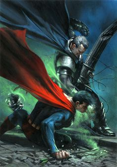 Dark Knight III: The Master Race #5 Bulletproof Comix Exclusive Variant Cover by Gabriele Dell'Otto