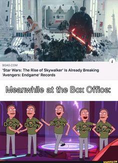 'Star Wars: The Rise of Skywalker' ls Already Breaking 'Avengers: Endgame' Records - iFunny :) Manado, Insta Memes, Funny Jokes, Hilarious, Fandoms, Disney Memes, Disney And Dreamworks, Popular Memes, The Funny