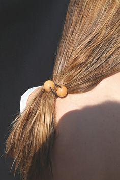 Saskia Diez Wood Hair Tie — Nu Swim