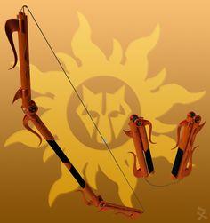 Solem Radii (RWBY OC weapon) by JackBryanReynard.deviantart.com on @DeviantArt
