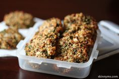 Baked Kale and Quinoa Patties - Two of the most healthy and popular foods on the planet are combined into one delicious recipe. #quinoa #kale #healthy #easy #recipes