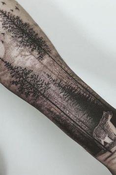 Tatouage dotwork Thomas Sinnamond