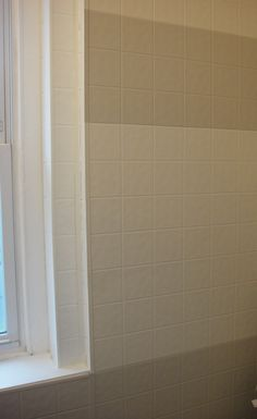 How To Paint Fake Tile Paneling Do It Yourself Tiles Bathroom