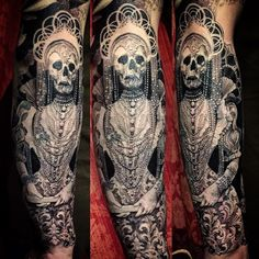 ellen westholm manchette tatoo lady death