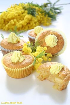 muffin all'ananas