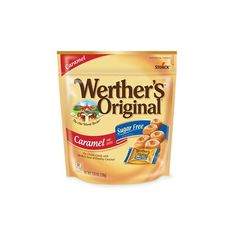 Werthers Original Sugar Free Caramel Hard Candies Oz Pack Of 2 Bags Werther's Caramel, Caramel Apples, Candy Jars, Candy Dishes, Sugar Free Hard Candy, Candy Stand, Classic Candy, Gourmet Gifts, Free Food