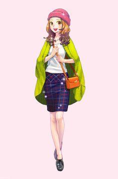 Девочки в модных нарядах: Из игры New Style Boutique 2 – Fashion Forward