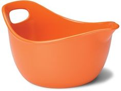 Stoneware Mixing Bowl (3-qt.): Orange by Rachael Ray at Food Network Store