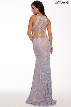 Long Lace Dress 99166 - Prom Dresses