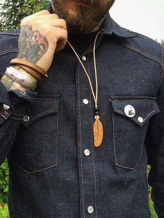 ewingdrygoods:   New hand carved mammoth Ivory... - The Denim Douche