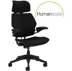 Humanscale Freedom Task Chair With Headrest  www.officefurnitureonline.co.uk