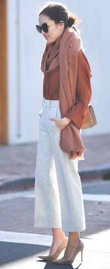 #fall #fashionistas #outfits | Camel + Grey