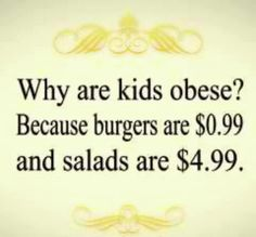 Why we're fat.