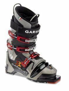 eae275899f Garmont Voodoo Telemark Ski Boot (Black Grey Pearl