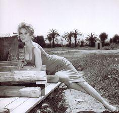 Brigitte Bardot in 1958