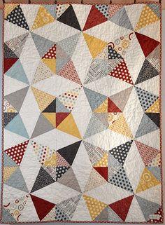 Hometown Kaleidoscope Baby Quilt | Flickr - Photo Sharing!