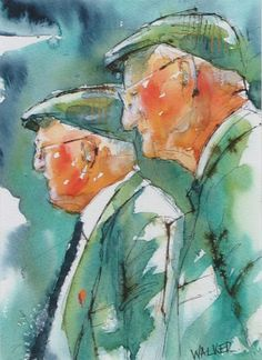 Devon Farmers, print - West Gallery