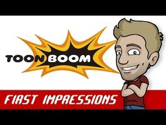 Jazza's TOON BOOM / HARMONY First Impressions Review - YouTube