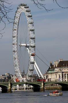 Sarah and I rode the London Eye; took lots of pictures from it of London. Great ride!!! sc